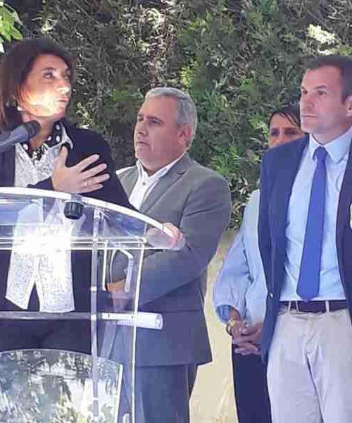 inauguration place auffan eoures - martine vassal - denis d'andrea - julien ravier