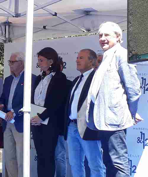 inauguration place auffan eoures - robert assante